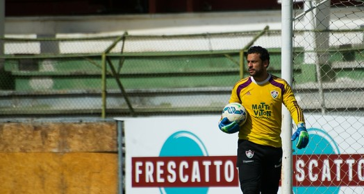 no gol? (Bruno Haddad/ Fluminense FC)