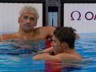Estrelas da natação não conseguem brilhar tanto quanto Michael Phelps
