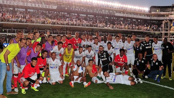 Santos x Benfica (Foto: Ivan Storti/Divulgação Santos FC)