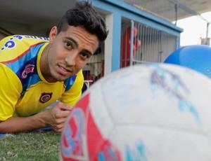 Lenny, atacante do Madureira (Foto: Uanderson Fernandes / Agência O Dia)