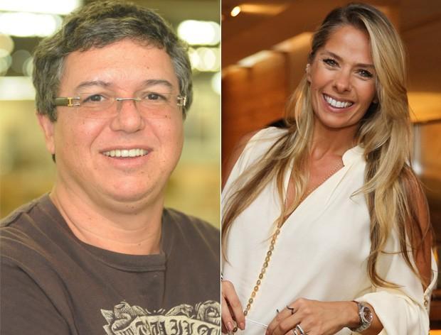 Boninho e Adriane Galisteu (Foto: Divulgação / Manuela Scarpa/Brazil News)