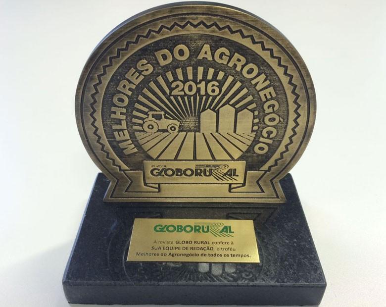 trofeu-melhores-agro-2016 (Foto: Editora Globo)