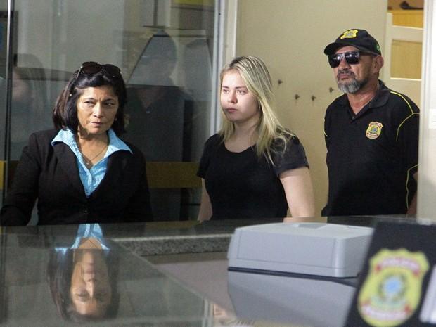Ex-prefeita Lidiane Leite, de Bom Jardim, MA (Foto: De Jesus/ O Estado)
