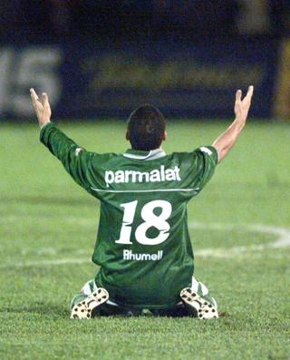 Euller Palmeiras x Flamengo 1999 (Foto: J.F.Diorio/Estadão Conteúdo)