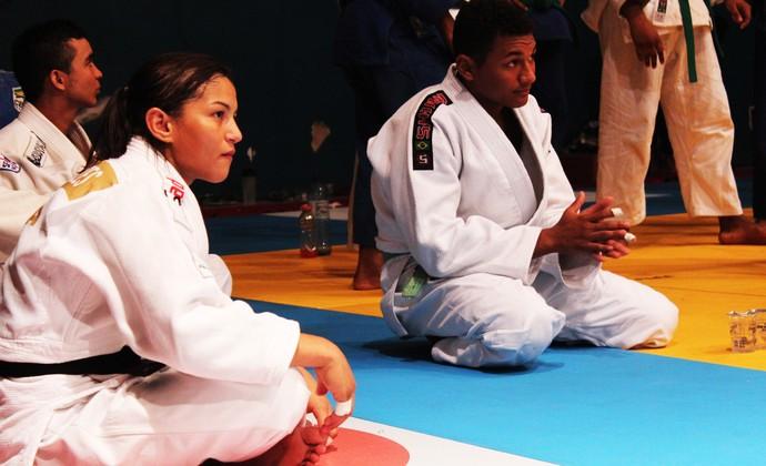 Sarah Menezes em Teresina (Foto: Josiel Martins )