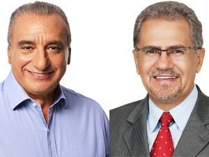 Carlos Roberto e Almeida (Foto: Reprodução/ G1)