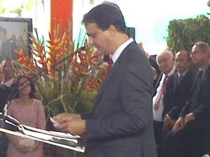 Camilo sucede o ex-governador Cid Gomes (Foto: Gioras Xerez/G1)
