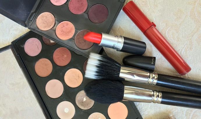 Paleta de maquiagem (Foto: Juliana Dalbosco/Arquivo Pessoal)
