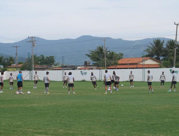 Treino do Botafogo nesta terça-feira  (Foto: Thales Soares/GLOBOESPORTE.COM)