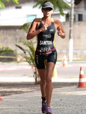 Jéssica Santos Triathlon (Foto: Antônio Lima/Semdej)