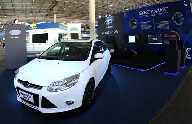 Estande da Ford no Campus Party 2014 (Foto: Divulgação)
