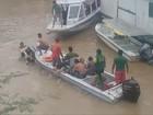 Duas crianças seguem desaparecidas após naufrágio em rio no AM