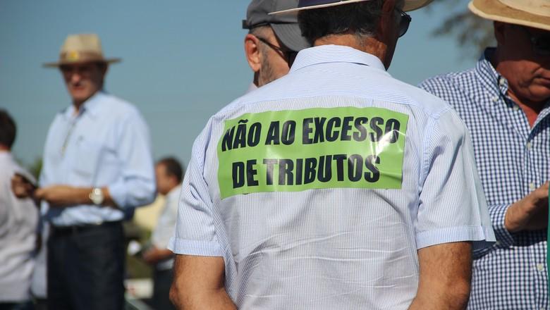 protesto-impostos-bahia (Foto: Reprodução)
