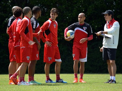 Milton Cruz elenco São Paulo (Foto: Site oficial do São Paulo FC)