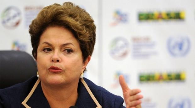 """Dilma Rousseff, presidente do Brsil: """"Portal diminuirá burocracia existente no país"""" (Foto: Agência Brasil)"""
