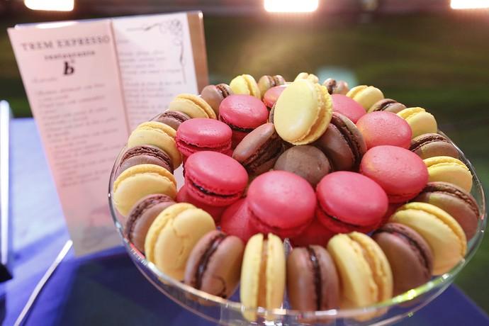 Mais docinhos! Macarons deliciosos e coloridos (Foto: Raphael Dias/Gshow)