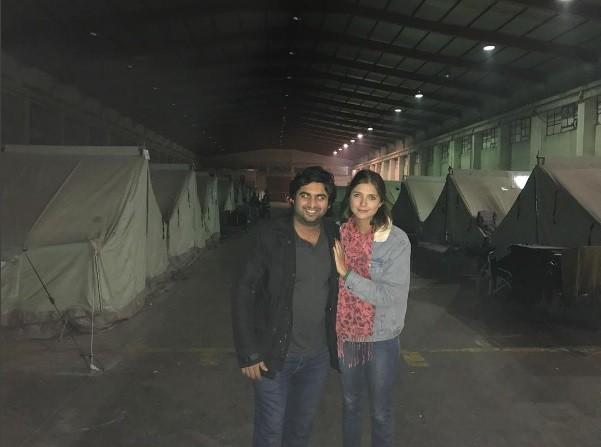 Tammy Di Calafiori num acampamento de refigiados Sírios (Foto: Reprodução / Instagram)