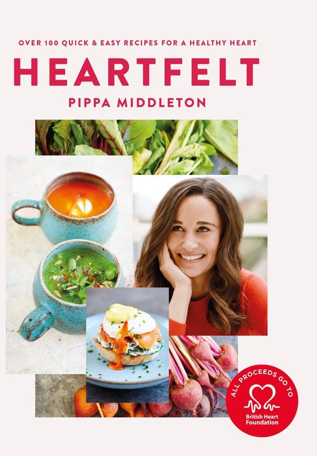 """""""Heartfelt"""" é o livro de culinária de Pippa Middleton (Foto: Reprodução)"""