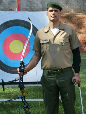 Marcelo Pires paradesporto Jogos Mundiais Militares JMM (Foto: Arquivo Pessoal)