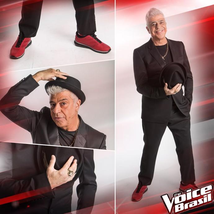 Look Lulu Santos estreia The voice (Foto: Gshow)
