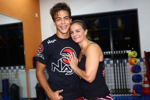 Ronald e Milene Domingues (Foto: Iwi Onodera / EGO)