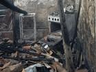 Casa fica totalmente destruída após incêndio em Caruaru, Agreste de PE