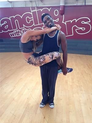 Lolo Jones na Dança dos Famosos americana (Foto: Instagram)