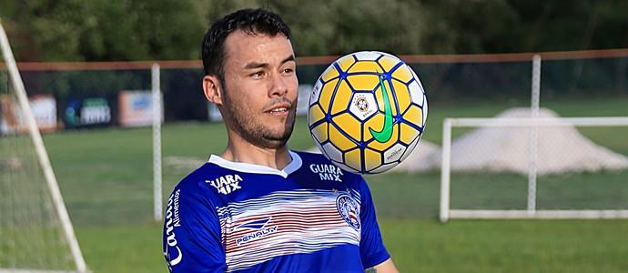 Renato Cajá; Bahia (Foto: Felipe Oliveira/Divulgação/EC Bahia)