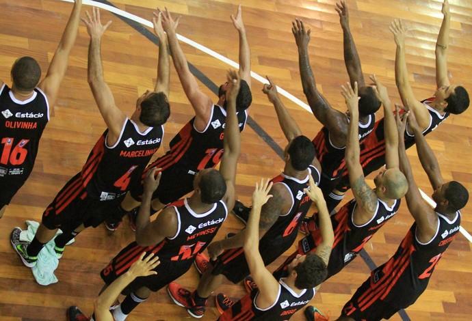 São José Flamengo Basquete NBB (Foto: Rafael Silva/Gazeta Press)