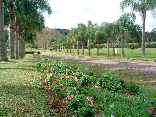 Jardim Botânico Lajeado RS (Foto: Prefeitura de Lajeado/Divulgação)