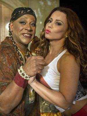 Atriz espera que Xana e Naná tenham um final feliz  (Foto: TV Globo/ João Cotta)