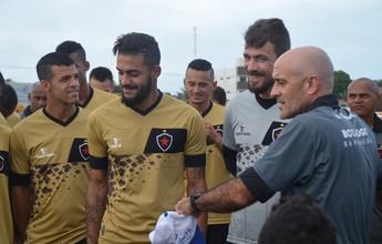 Botafogo-PB confirma interesse em manter Pedro Castro e David Luis