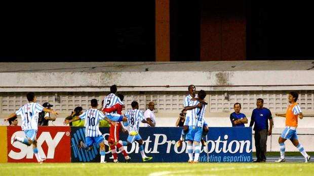 Picachu gol Pausandu x Palmeiras (Foto: Thiago Gomes / Futura Press)