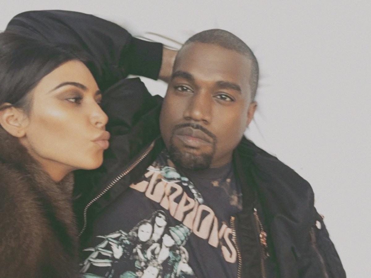 Kim Kardashian e Kanye West (Foto: Instagram/Reprodução)