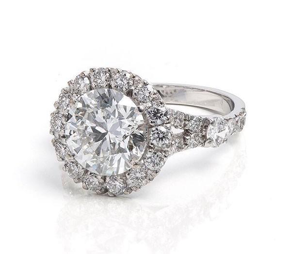 O anel de noivado de Marina Ruy Barbosa (Foto: Divulgação)