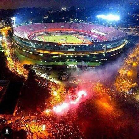 Morumbi e torcida do São Paulo