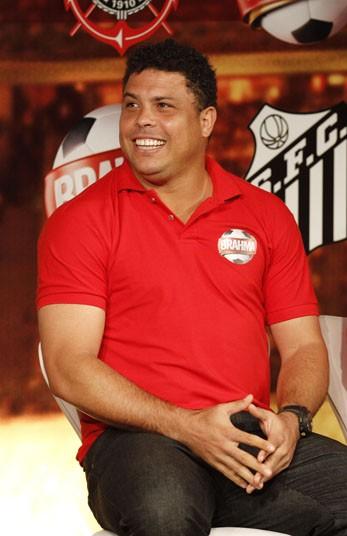 Ronaldo Fenômeno é garoto-propaganda de projeto da Brahma (Foto: Divulgação / Brahma)
