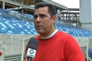 Kiko Araújo, ex-técnico Araguaia (Foto: Reprodução TVCA)