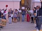 Artistas de Corumbá (MS) protestam contra fim do Ministério da Cultura