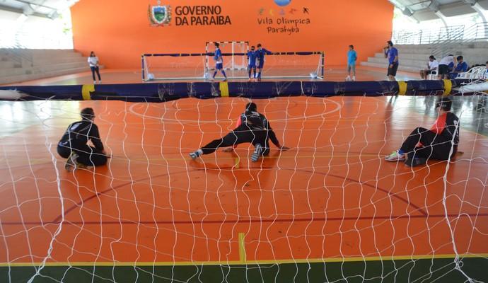 Sesi São Paulo, Argentina, GoalBall, Vila Olímpica Parahyba (Foto: Amauri Aquino / Globo Esporte)