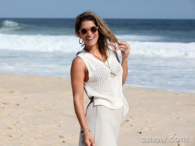 Priscila Fantin volta a Malhação na pele de Rachel, mãe de Guilherme (Foto: Malhação / TV Globo)