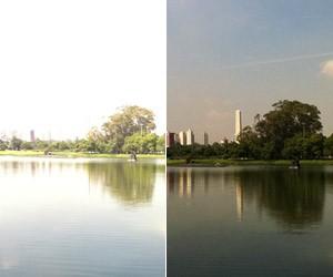 fotos celular paisagem (Foto: Luciana de Oliveira/G1)