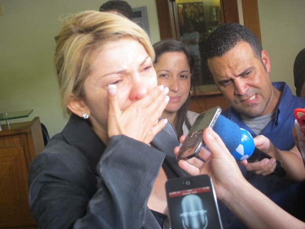 Antonia Fontenelle mulher Marcos Paulo (Foto: Renata Soares/G1)