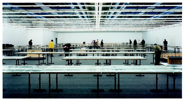 Centre Georges Pompidou, Andreas Gursky, 1995 (Foto: Divulgação)