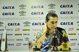 Entrevista Jorginho técnico do Vasco (Foto: Matheus Frigols)