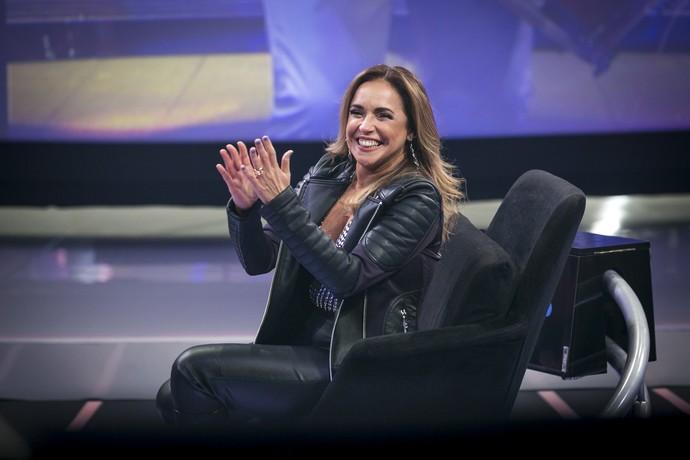 Daniela Mercury é pura alegria  (Foto: Isabela Pinheiro/Ghsow )