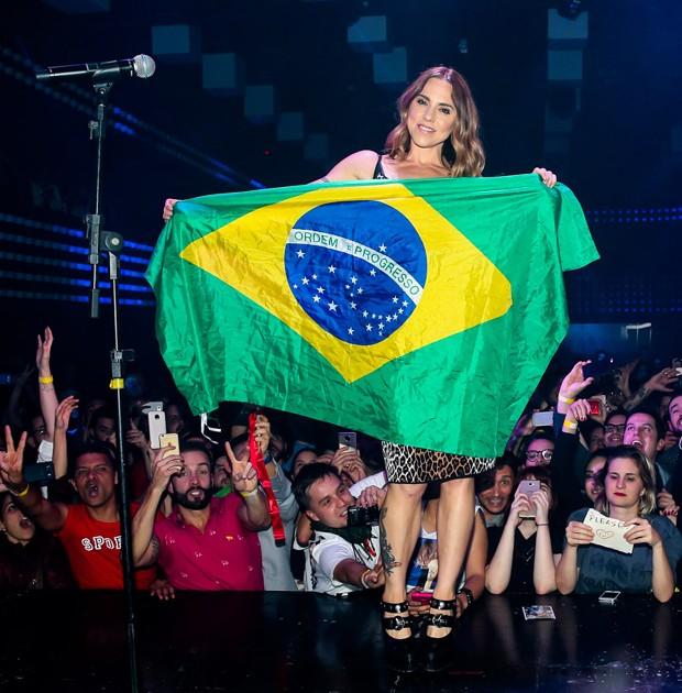 Melanie C (Foto: Manuela Scarpa/Brazil News)
