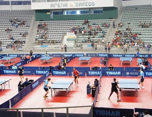 Copa do Brasil de Tênis de Mesa acontece em Santos (Foto: Divulgação/ASTM)