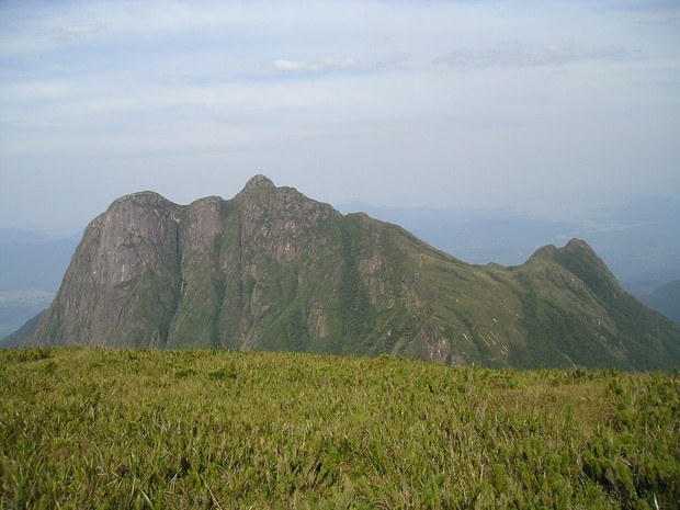 Há trilhas para subir o Pico do Paraná (Foto: Tiago Choinski / Arquivo Pessoal)