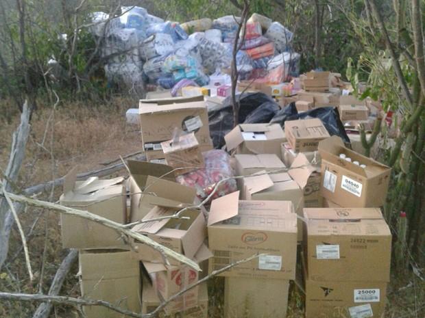 Material recuperado em Orocó (Foto: Divulgação/Polícia Militar)